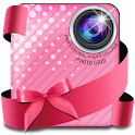 Lovely Pink Photo Collage icon
