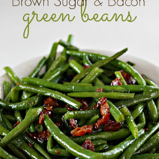 Brown Sugar and Bacon Green Beans