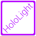 HOLO LIGHT PURPLE CM THEME icon