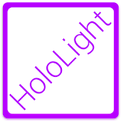 HOLO LIGHT PURPLE CM THEME