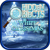 Hidden Objects White Christmas Holiday Object Game