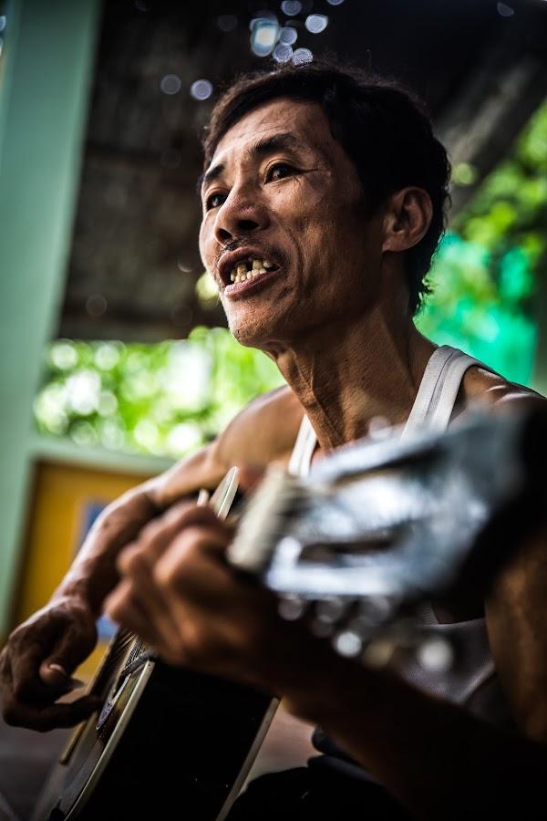 Best Friend by Callum Harris - People Street & Candids ( music, old, nam, street, motivation, guitar, vietnam, elderly, people, chinese, portrait, asian,  )