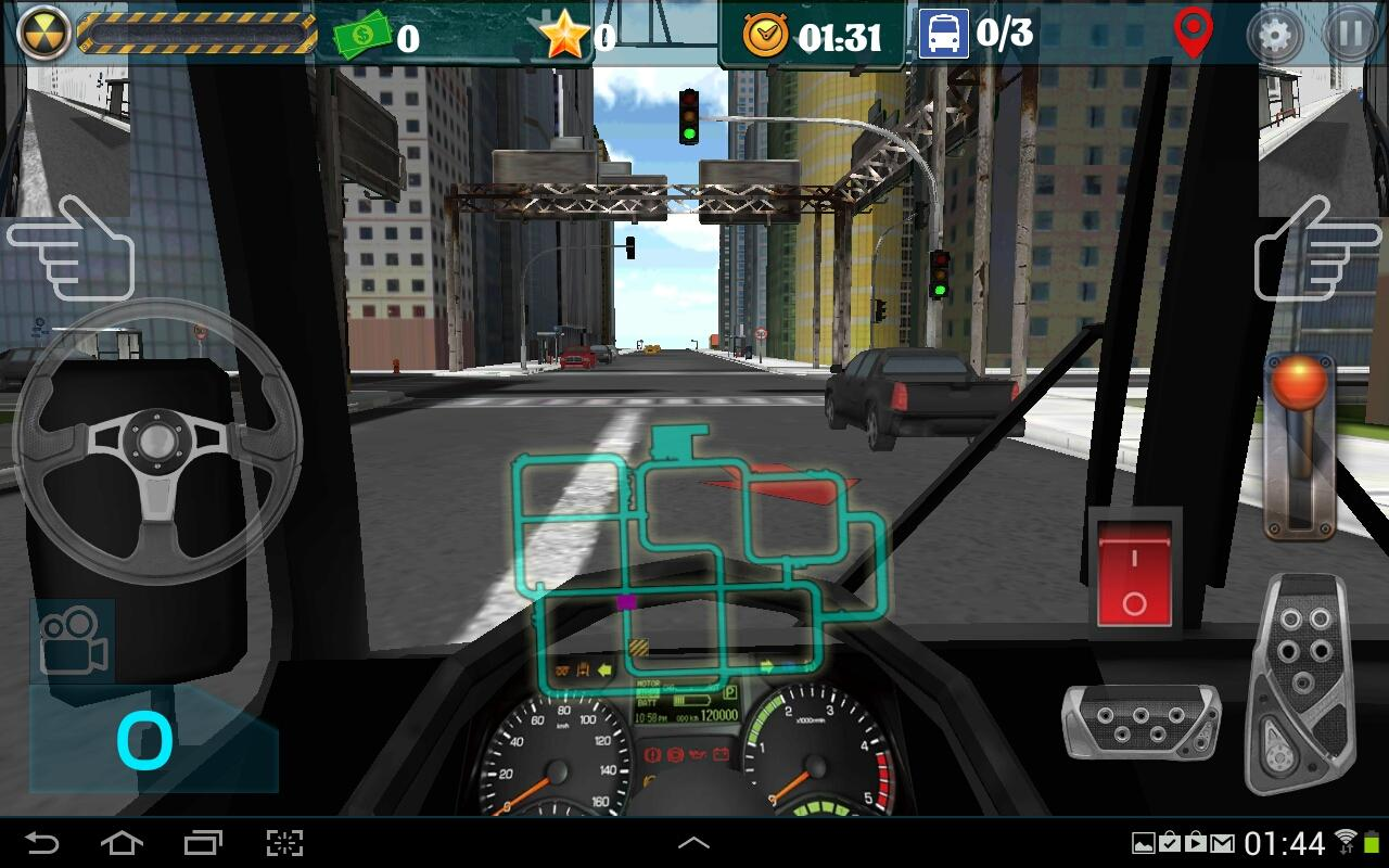 3d bus parking games