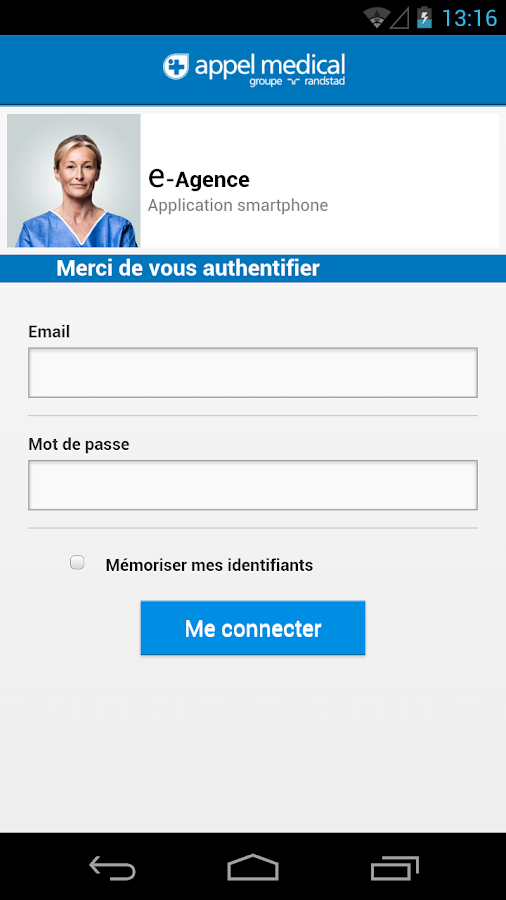 AM Mobilite Appel Medical – Capture d'écran