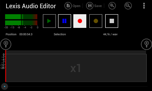 Lexis Audio Editor 1.0.70 screenshots 2