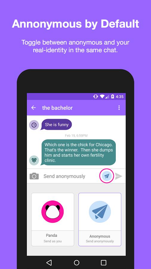 rumr: anonymous messenger - screenshot