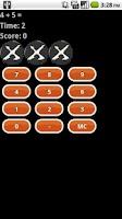 Screenshot of Math Warp