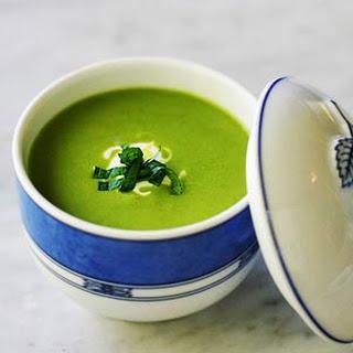 Summer Pea Soup.