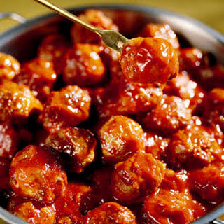 Sweet-and-Sour Meatballs.