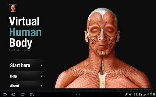 【免費醫療App】Virtual Human Body-APP點子