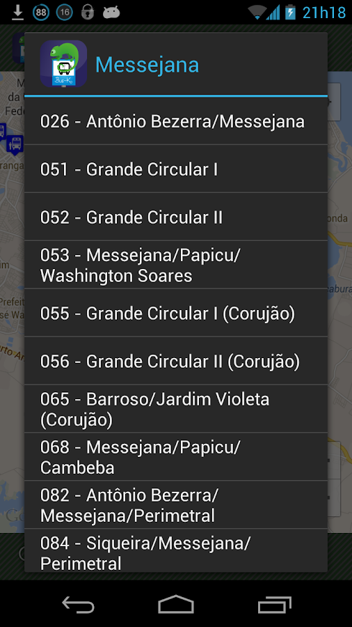 Bus-K Fortaleza - screenshot