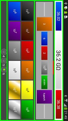 Resistor Color Code Ohm Calcul - screenshot