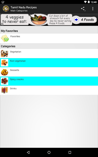 Tamil Nadu Recipes