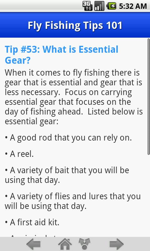 Fly fishing tips 101 android apps on google play for Fly fishing 101