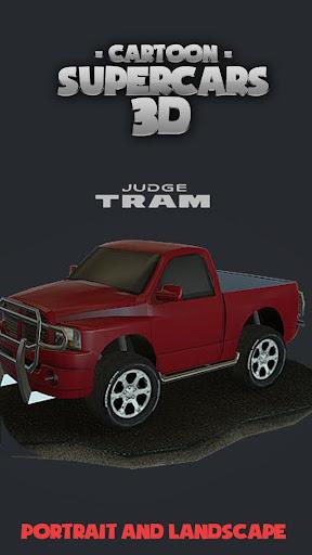 Toon Cars Dodge RAM 3D lwp