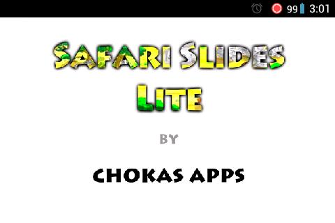 Safari Slides Lite- screenshot