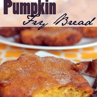 Pumpkin Fry Bread