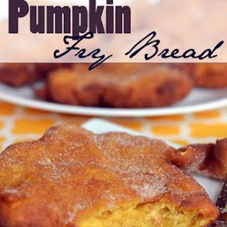 Pumpkin Fry Bread.