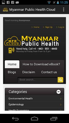 Myanmar Public Health Cloud