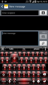 Theme for A.I.type Dusk Red v1.3