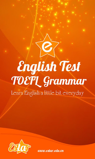 TOEFL Grammar Test