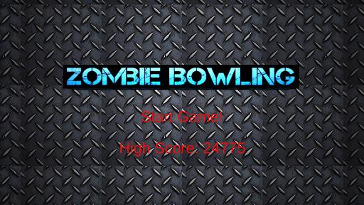 Zombie Bowling