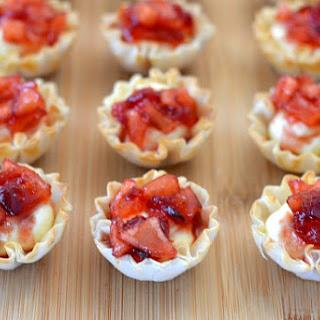 Cranberry Apple Cheesecake Bites