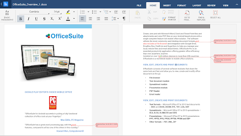 OfficeSuite 8 + PDF Converter Screenshot 1