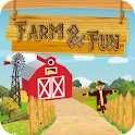 Farm And Fun Kids Games logo