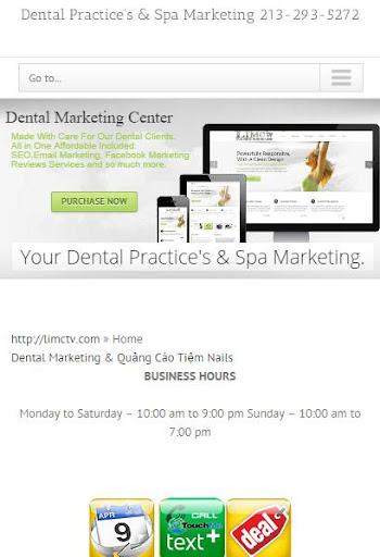 Dental Spa Nails Marketing