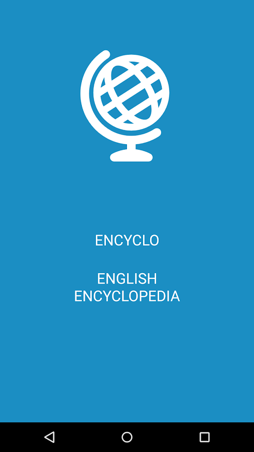 Encyclopedia- screenshot