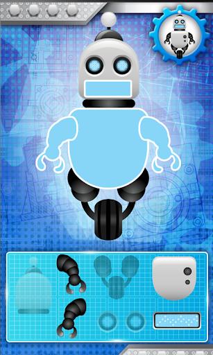 パズルは ロボットタワー