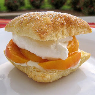 Peaches and Cream Puffs.