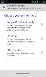Cloud Print plus: miniatura de captura de pantalla