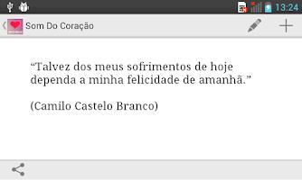 Screenshot of Som do Coração