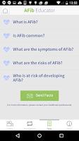 Screenshot of AFib Educator