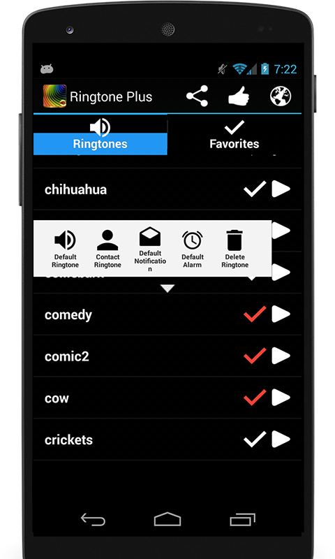 Ringtone Plus - screenshot