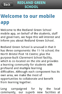 Redland Green School- screenshot thumbnail