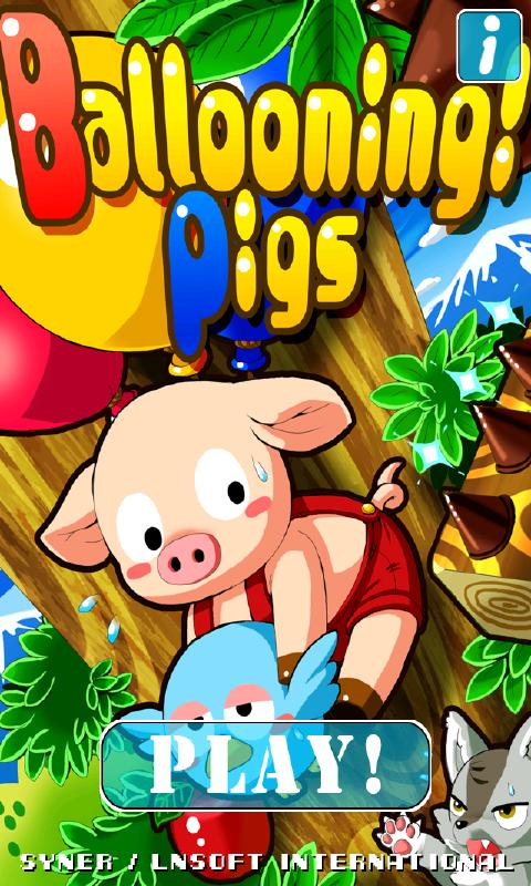 Ballooning Pigs for Android- screenshot