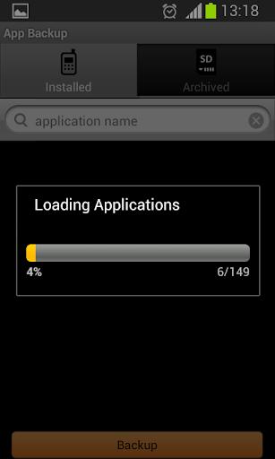 App Backup  screenshots 1