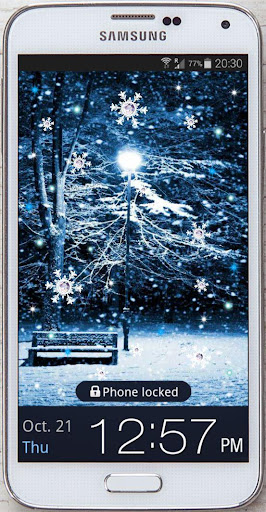 Snowy Pictures Live Wallpaper