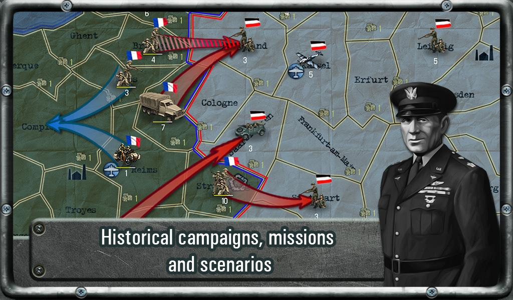 Strategy & Tactics: WW II - screenshot