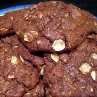 Chocolate Oatmeal Cookies.