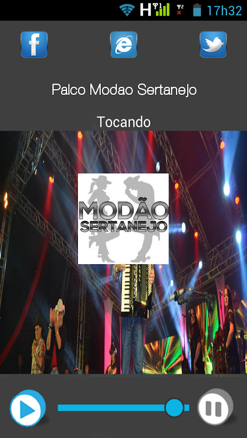 Palco Modão Sertanejo- screenshot