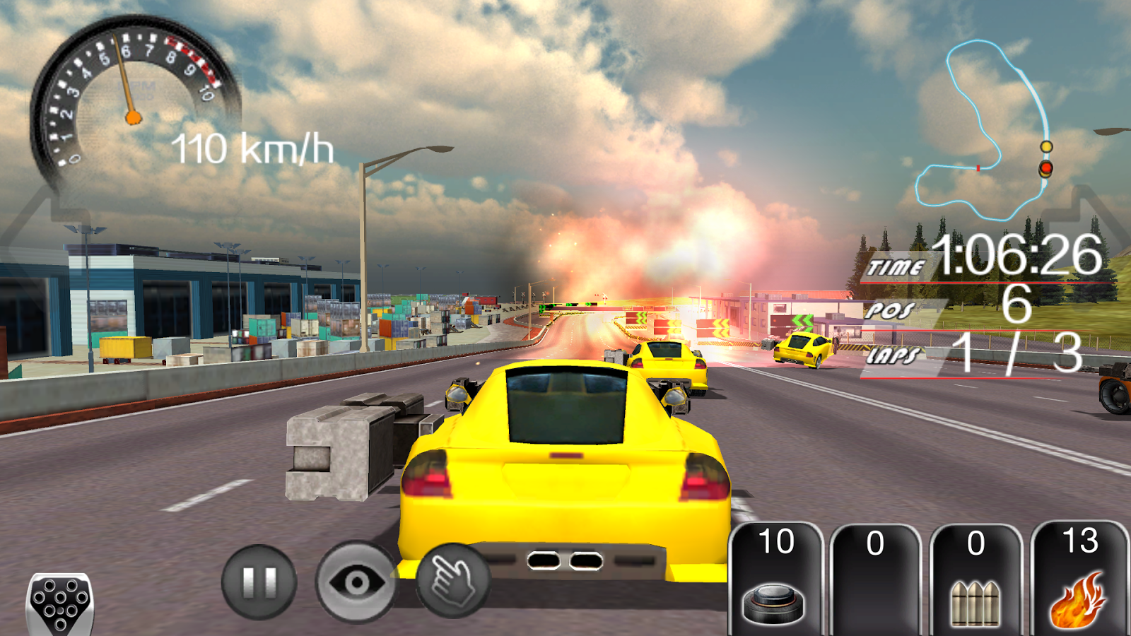 Armored car racing game android apps on google play for Play motor racing games