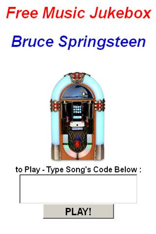 Bruce Springsteen JukeBox - screenshot