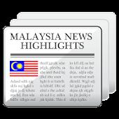Malaysia News Highlights