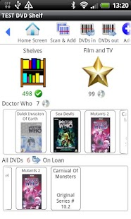 DVD Shelf - screenshot thumbnail