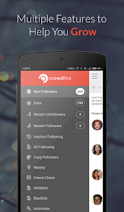 Crowdfire for Instagram growth - screenshot thumbnail