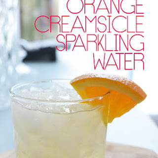 Orange Creamsicle Sparkling Water